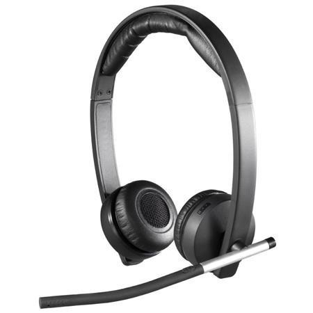 Logitech H820e Wireless Dual Headset With Noise Cancelling Microphone 981 000516