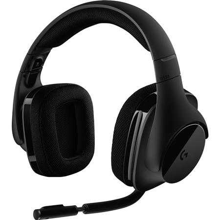 Logitech G533 7 1 Virtual Surround Wireless Gaming Headset With Microphone 981000632