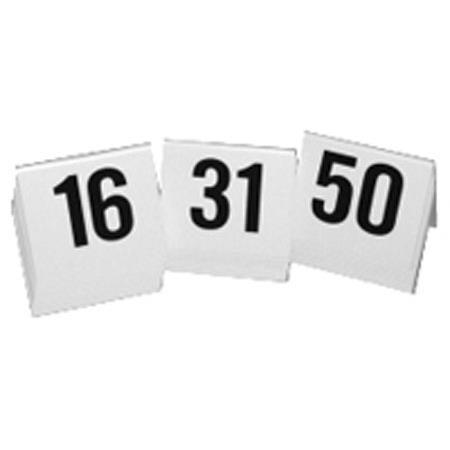 Lynn Peavey 3  16-50 Numbered A-Frame Tent Markers White  sc 1 st  Adorama & Lynn Peavey 3