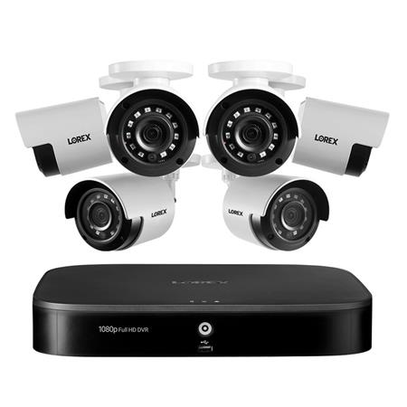Lorex 1080p HD 8-Channel 1TB Security System with 6x Night Vision Cameras $199.00
