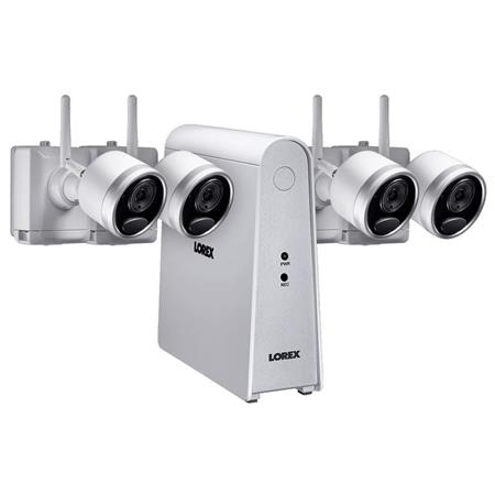 Lorex 6 Channel 1080p HD Wire-Free Security System with LHWF1006T1 1TB DVR  & 4x LWB4801 Cameras