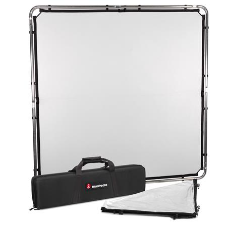 9eedf4b67351 Lastolite SkyLite Rapid Midi 5x5' Frame Kit with Silver/White Reflector and  Rigid Carry Case