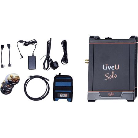 LiveU Solo HDMI Video/Audio Encoder Bundle with 1-Year LRT Virtual Cloud  Server Subscription