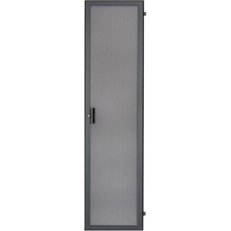 Lowell Manufacturing LFD-44FV 44U Fully Vented Steel Front Door with Keyed  Lock for 22