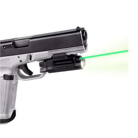 Lasermax Spartan Adjustable Fit Rail Mounted Green Laser