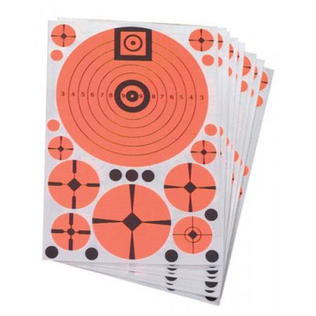 10 Per Pack Targ-Dots Instant Targets Varmint Assortment Pack