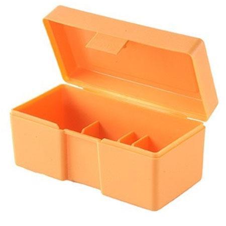 Genial Lyman Storage Box For One Reloading Die, Orange Plastic