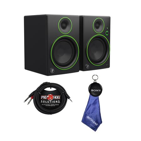 """Pair Mackie CR5BT 5/"""" Multimedia Monitor with Bluetooth"""