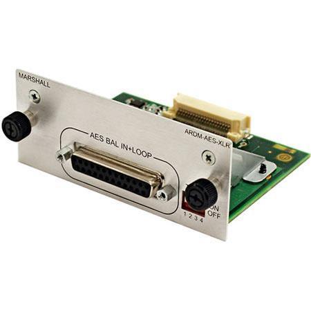 Marshall Electronics ARDM-AES-XLR Input Module: Picture 1 regular