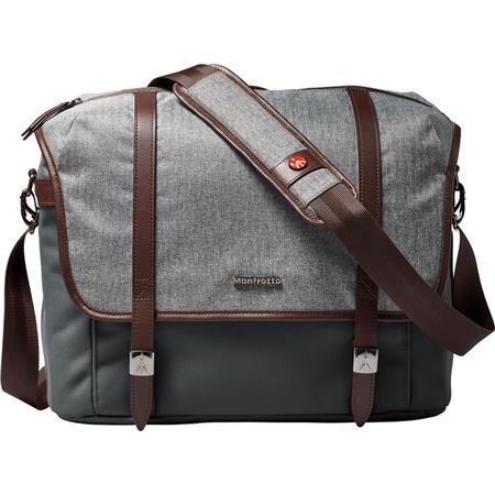 940738dcf8 Manfrotto Lifestyle Windsor Messenger Bag for DSLR Camera   Laptop ...