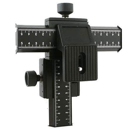 4 Way Focusing Rail Slider Bracket for SLR Camera Macro Focus Photograp