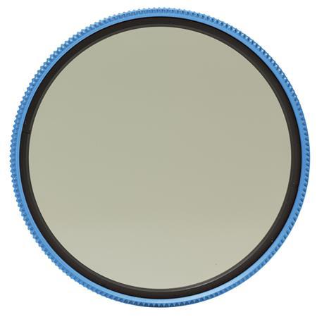Mefoto 55mm Wild Blue Yonder Circular Polarizer Filter Blue Filter Ring