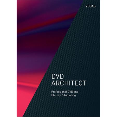 Magix VEGAS DVD Architect DVD and Blu-ray Disc Authoring Software,  Electronic Download