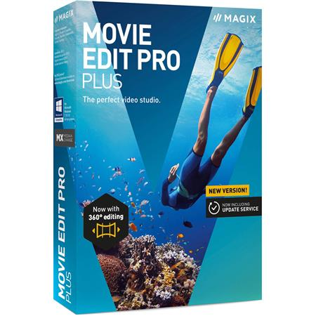 Magix Movie Edit Pro Plus 2019 Software, Electronic Download
