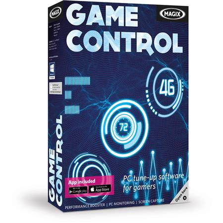 Magix Game Control PC Tune-Up Software for Gamers, 100+ Volume License,  Download (Price Per License - Enter Order Quantity 100 or Above)