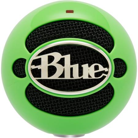 Blue Microphones Snowball, Professional USB Condenser Microphone, for Mac &  Windows, Neon Green