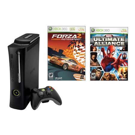 Microsoft Xbox 360 Elite System Value Bundle, with Elite