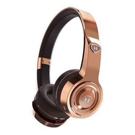 Monster Elements On-Ear 3.5mm Wireless Bluetooth Headphones