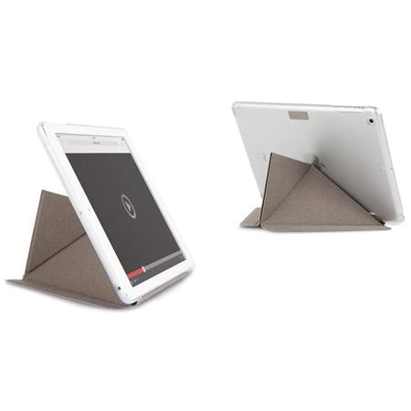 buy online 961c7 21b20 Moshi VersaCover iPad Air Case with Folding Cover and Stand, Velvet Gray