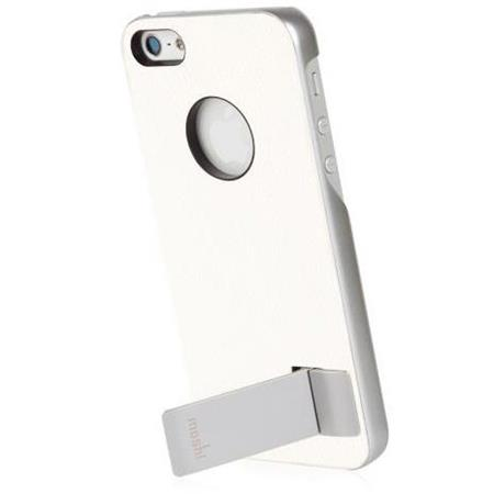 size 40 3fd94 dc419 Moshi iGlaze Kameleon Kickstand Case for iPhone 5/5s, White