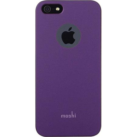 pretty nice cbced 97c79 Moshi iGlaze Protective Case for iPhone 5, Purple