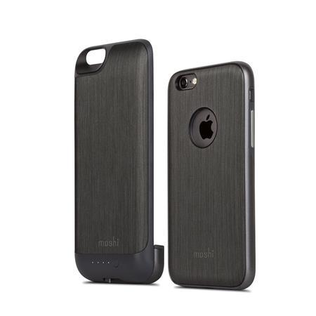 sale retailer 49ffd 92189 Moshi iGlaze Ion Battery Case for iPhone 6/6s, Steel Black