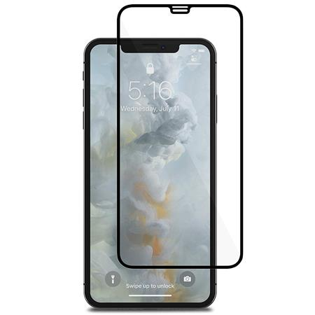 Moshi IonGlass Screen Protector for iPhone XS Max, Black