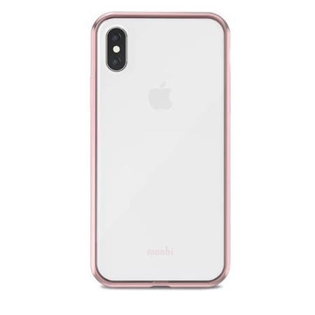 the best attitude 92472 90111 Moshi Vitros Crystal Clear Case for iPhone X - Orchid Pink Edges