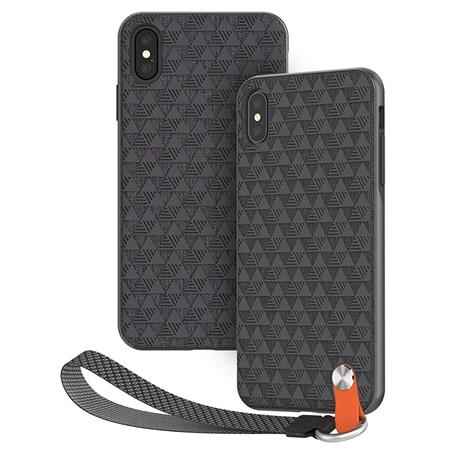 Moshi Altra Slim Hardshell Case With Strap For Iphone Xs Max Shadow Black