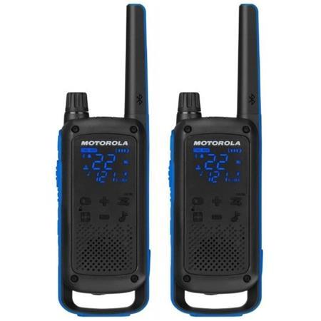Motorola Talkabout T800 Walkie-Talkies, Blue, Pair