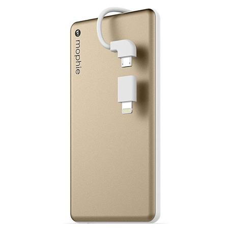 watch 685c3 df36a Mophie Powerstation Plus Mini 4,000 mAh Battery Pack, Gold