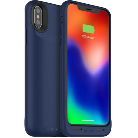 low priced 11f03 d3ada Mophie Juice Pack Air Battery Case for iPhone X, Blue