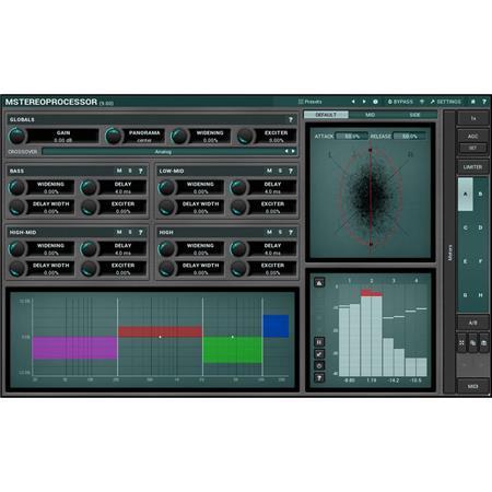 MeldaProduction MStereoProcessor Multiband Stereo Analyzer Enhancer Software  Plug-In 3fe2e3b95ec