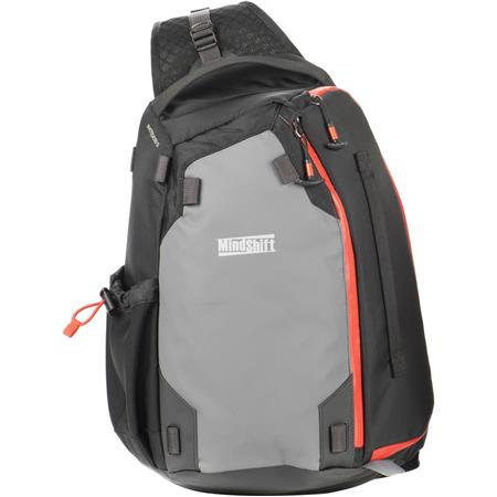 Mindshift Photocross 13 Weather Resistant Sling Bag Fits Dslr Camera 2 4 Lenses Up To 70 200mm F 8 Laptop Orange Ember