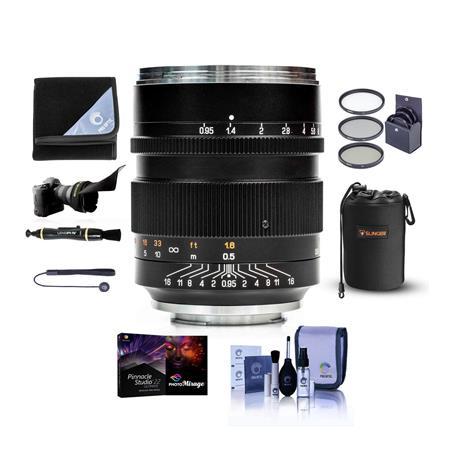 Mitakon Speedmaster 50mm f/0 95 III Lens,Canon RF Mirrorless Camera Mt  W/ACC KIT