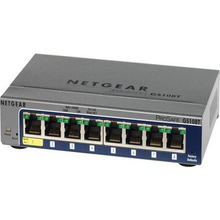Netgear GS108T 8-Port Gigabit Switch