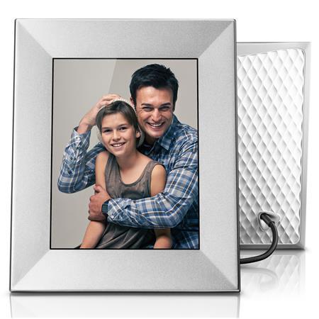 Nixplay Iris 8 Wi Fi Cloud Digital Picture Frame Silver 308