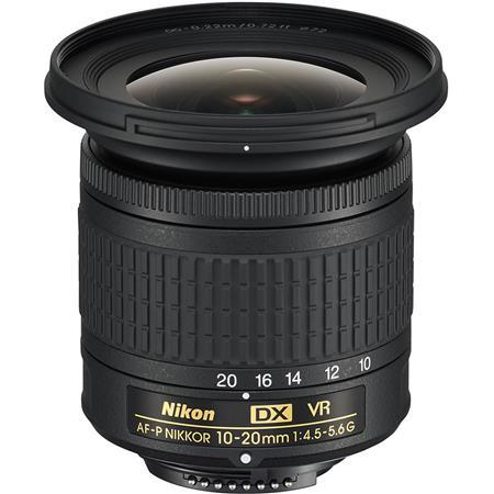 Nikon AF-P DX NIKKOR 10-20mm f/4 5-5 6G IF VR Zoom Lens - U S A  Warranty