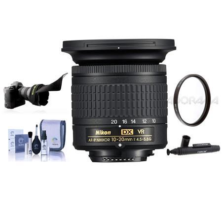Nikon AF-P DX 10-20mm f/4 5-5 6G IF VR Zoom Lens USA With Free Acc Bundle