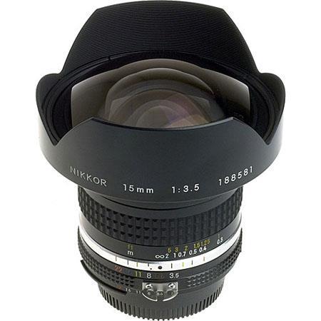 Nikon 15mm f/3 5 AIS Manual Focus Nikkor Lens - Re 1412 B
