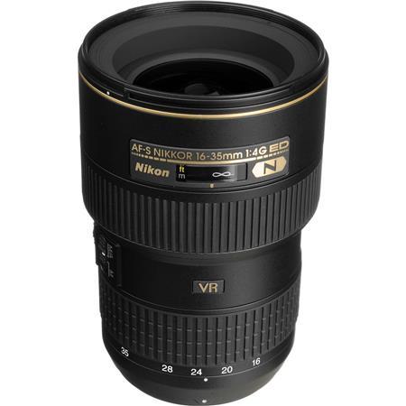Nikon 16-35mm F/4G AF-S NIKKOR ED (VR-II) Vibration Reduction Zoom Lens -  Refurbished by Nikon U S A