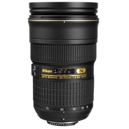 Nikon 24 70mm F28g Ed If Af S Nikkor Lens Nikon Usa Warranty 2164