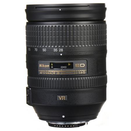 Nikon 28-300mm f/3 5-5 6G ED-IF AF-S NIKKOR VR Vibration Reduction Lens -  U S A  Warranty