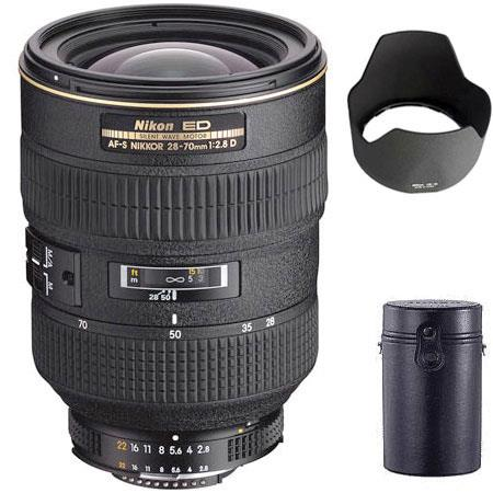 Used Nikon 28-70mm f/2 8 ED-IF AF-S Wide Angle-Telephoto Zoom-Nikkor Lens F