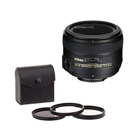 Gadget Career 58mm Neutral Density ND2 Filter for Nikon AF-S Nikkor 50mm f//1.8G 50mm f//1.4G