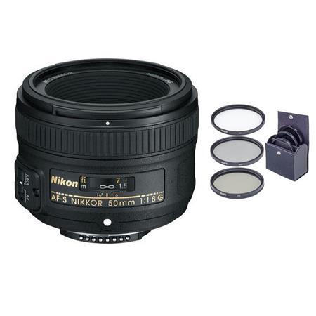 Ultraviolet UV Multi-Coated HD Glass Protection Filter for Nikon AF-S NIKKOR 50mm f//1.8G Special Edition Lens