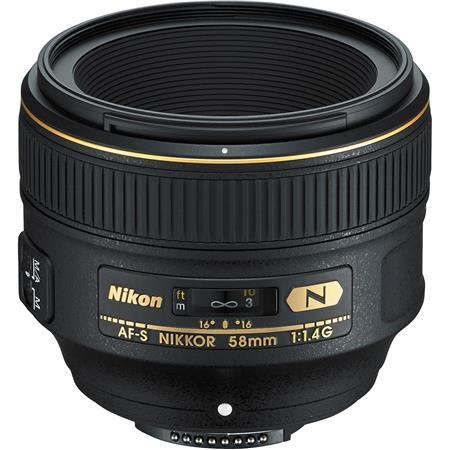 Nikon 58mm f/1.4: Picture 1 regular