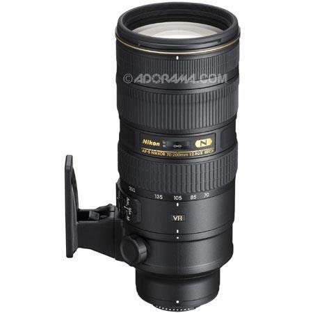 Nikon 70-200mm f//2.8G ED VR II AF-S Nikkor Zoom Lens for Nikon Digital SLR Cameras Renewed