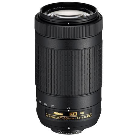 Nikon Af P Dx Nikkor 70 300mm F45 63g Ed Vr Lens Usa Warranty 20062