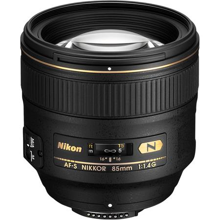 Nikon 85mm F/1.4: Picture 1 regular